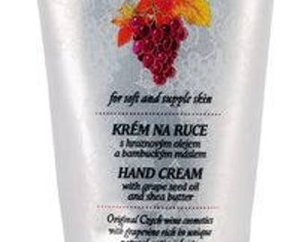 Intensive Hand Cream with Grape Seed Oil and Shea Butter, Manufaktura - Czech origin, tradition, quality, natural material