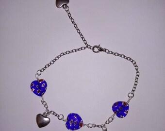 Bracelet chain hearts