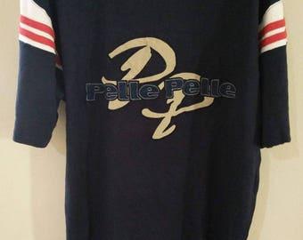 Sale Vintage Pelle Pelle Marc Buchanan Big Logo Hip Hop Style T shirt