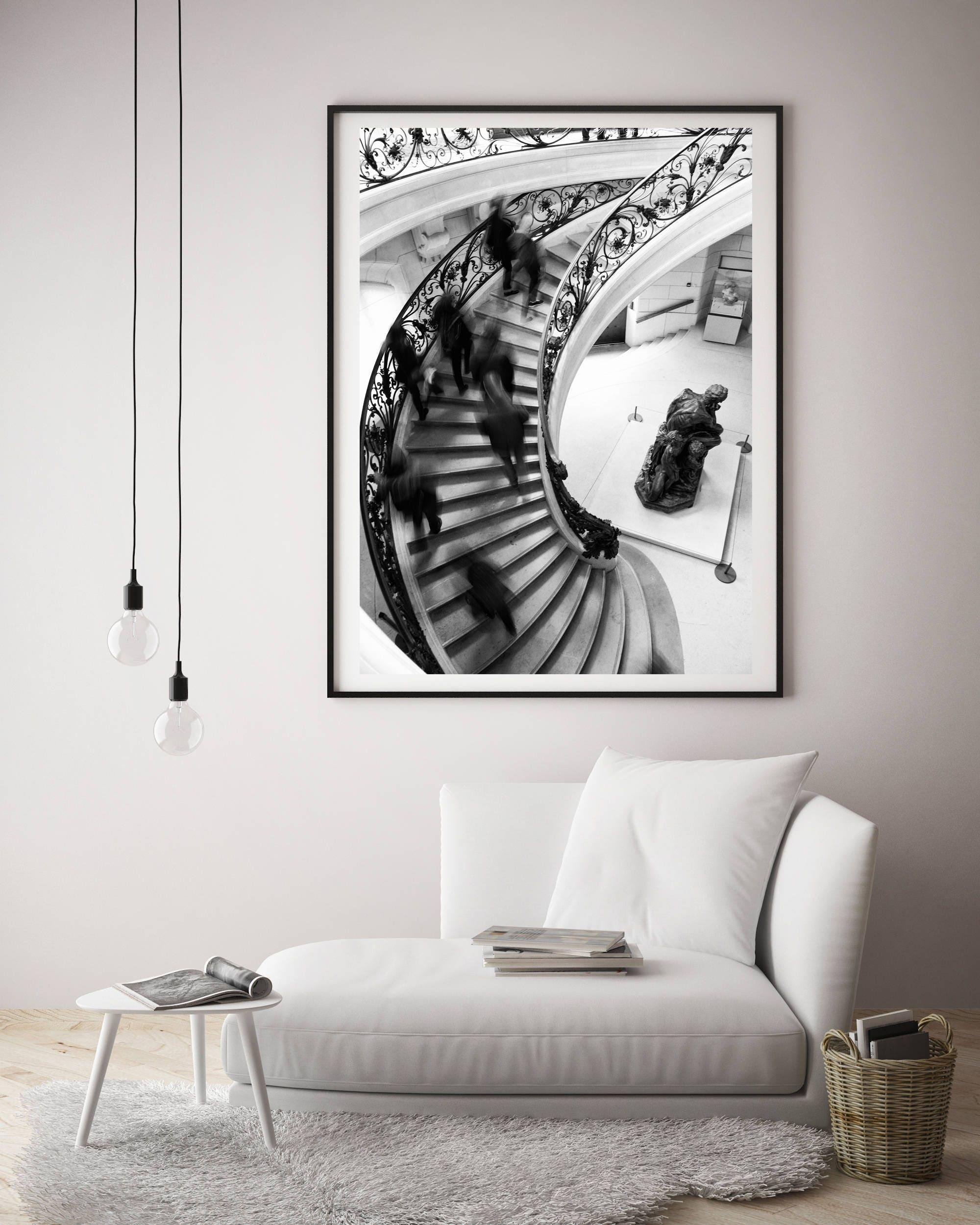 Paris artwork, Boho chic wall art, Extra large wall art, New ...
