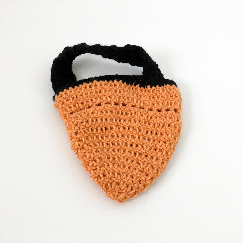 personalized crochet treat bag monogram halloween bag monogram candy bag kids halloween bag
