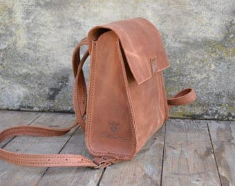 "Ladies' leather backpack ""City Back Box"""