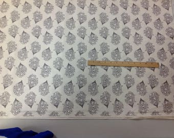 Cotton + Steel Sleep Tight Porcupine  sold in 1/2 yard increments  cotton fabric quilting
