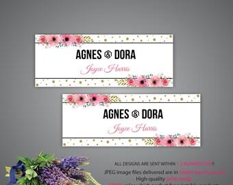 Agnes Dora Facebook Cover, Custom Agnes and Dora Facebook Banner, Custom Agnes Banner, Agnes POP-UP, Agnes Dora Facebook, Group Banner AD99