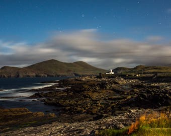 Photo of Valentia Lighthouse, Valentia Island, Co. Kerry. 6x4 Photo in an 8x6 Photo Mount