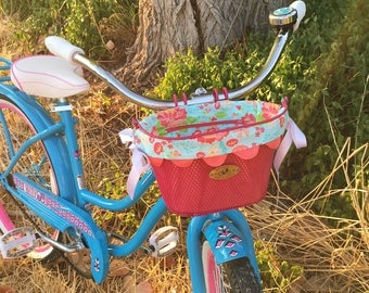 Bike Basket Liner for Nantucket Child Surfside Mesh Wire Basket