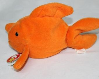 Ty Beanie Baby Goldy the Goldfish