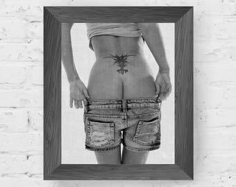 erotic nudity, sensual prints, female photography, black white woman, girl poster, sexy erotic, nude art, wall art prints, digital download