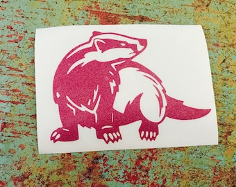Honey Badger Decal (Choose your colors)