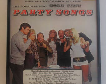 Framed Vintage Album - Party Songs - Kitsch gone mad.