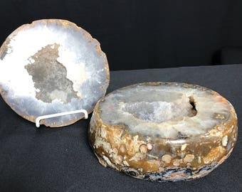 Crystal Geode Cluster With Top