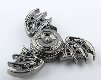 Game of Thrones Fidget Dragon Eye Wings Tri Di Spinner Hand Metal ADD Autism Anti Stress Relief Anxiety EDC