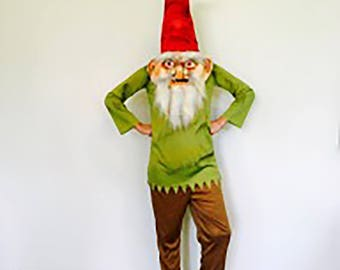 Adorable adult Garden Gnome Cosume