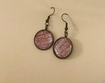 Ribbed earrings