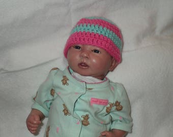 Adorable Newborn Baby Hat for a girl