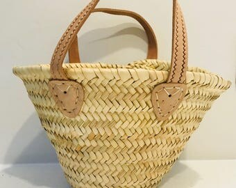 Toddler - Mini Plain French Style Basket