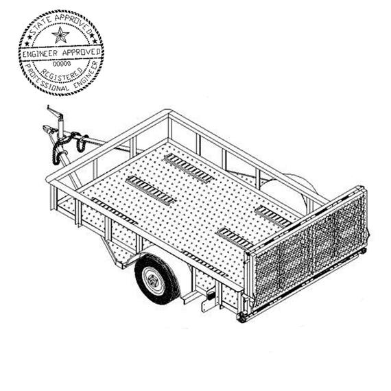 utility trailer specifications with 6 X 10 Motorcycle Utility Trailer Plans on Luggage Trailer moreover 5 X 8 Utility Trailer Plans Blueprints in addition View as well Draw Tite Class IIIIV Trailer Hitch For The GM Blazer Suburban Tahoe Yukon Escalade  DT75037 further Weather King Wiring Diagram.