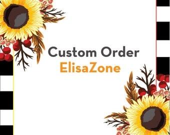 Custom order - Custom Monat listing items