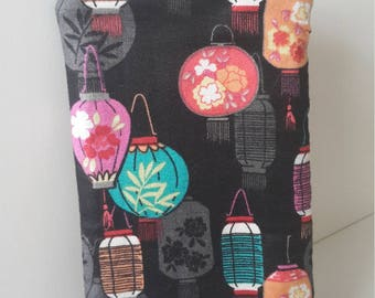 teacher gift idea chinese lantern phone pocket