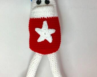 Homestar Runner Crochet Toy