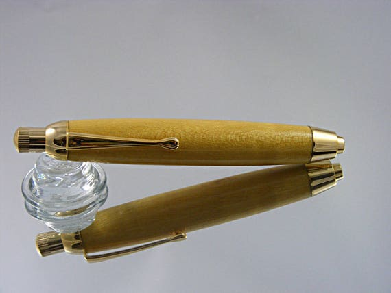 5.6mm Mechanical Sketch Pencil in Gold and Figured Yellowheart