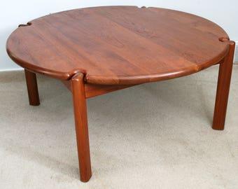 Danish teak table Etsy