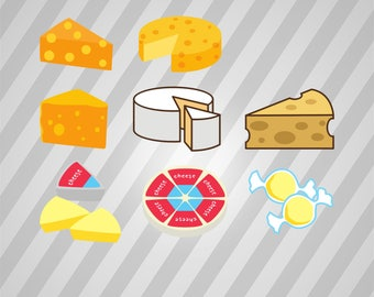 Cheese - Svg Dxf Eps Silhouette Rld RDWorks Pdf Png AI Files Digital Cut Vector File Svg File Cricut Laser Cut