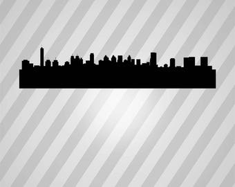 istanbul new city skyline Silhouette - Svg Dxf Eps Silhouette Rld RDWorks Pdf Png AI Files Digital Cut Vector File Svg File Cricut Laser Cut