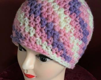 Handmade crochet beanie hat