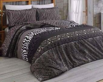 Linen Coverlet, Linen Bedspread, Linen Blanket, 04