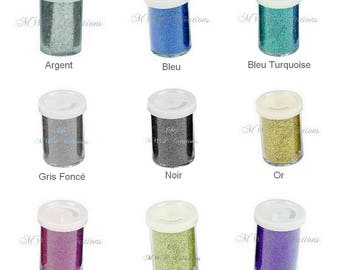 Fine glitter - 15 g pot (many colors available)