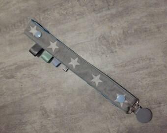 tie lollipop blue cotton and cotton coated
