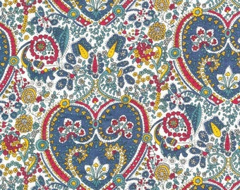 Flowers, liberty fabric, kitty grace
