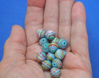 """Scheherazade"" handmade paper beads, unique designs."