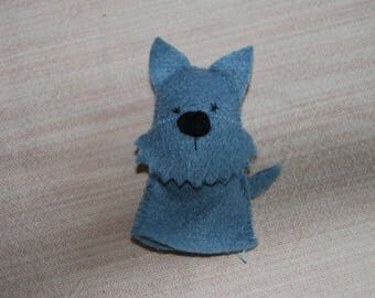 felt finger puppet animals scottish