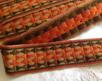 Old lace, design typical seventies