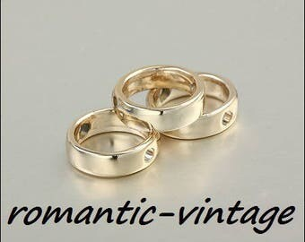 5 charms, pearls golden metal, ideal bracelet 12mm