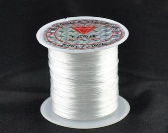 White nylon elastic