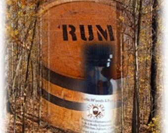 Rustic Woods & Rum Beard Oil