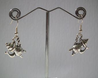 Tea Time Collection Dangle Earrings