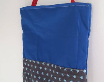 """Blue kids bag """"Star"""" for toy or snack"""