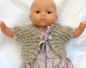 Dolls clothes vest Shepherd doll 30 cm