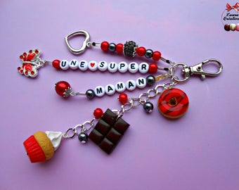 Sweety personalized keychain