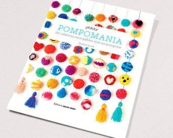 Catalogue No. 852 knitting book: Pompomania