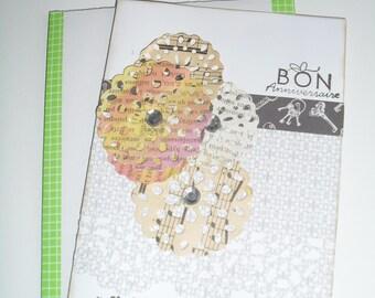 "greeting card ""happy birthday"" pinwheel flowers"