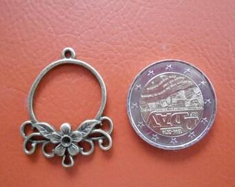 package includes 5 pendants flower connectors