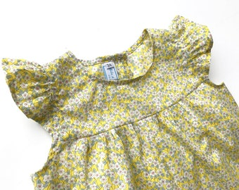 2 years - Playsuit Ffion Liberty girl model Lily