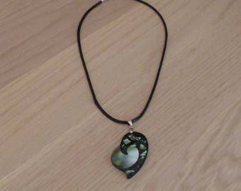 Necklace St Valenti, Valentine, mother of Pearl pendant - fashion necklace pendant small price