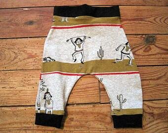 baby harem pants size 3/6 months