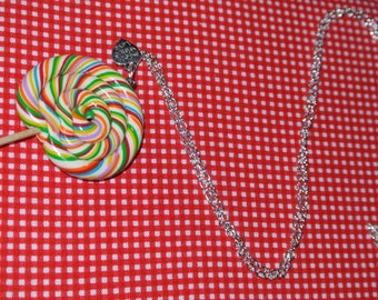 Lollipop necklace